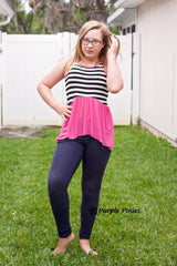 Rayon Spandex Solid - Hot Pink