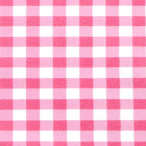 Swim Knit - Pink Gingham