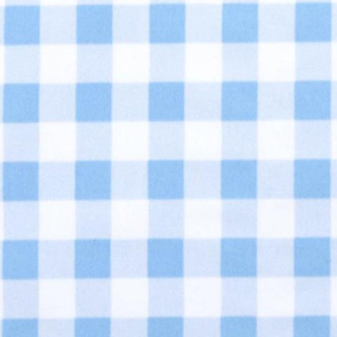 Swim Knit - Blue Gingham