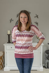 Crochet Knit - Blush