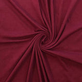 Cotton Spandex Solid - Burgundy