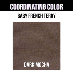 Baby French Terry Solid - Hot Orange
