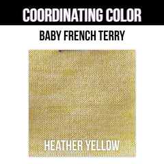 Baby French Terry Solid - Light Yellow