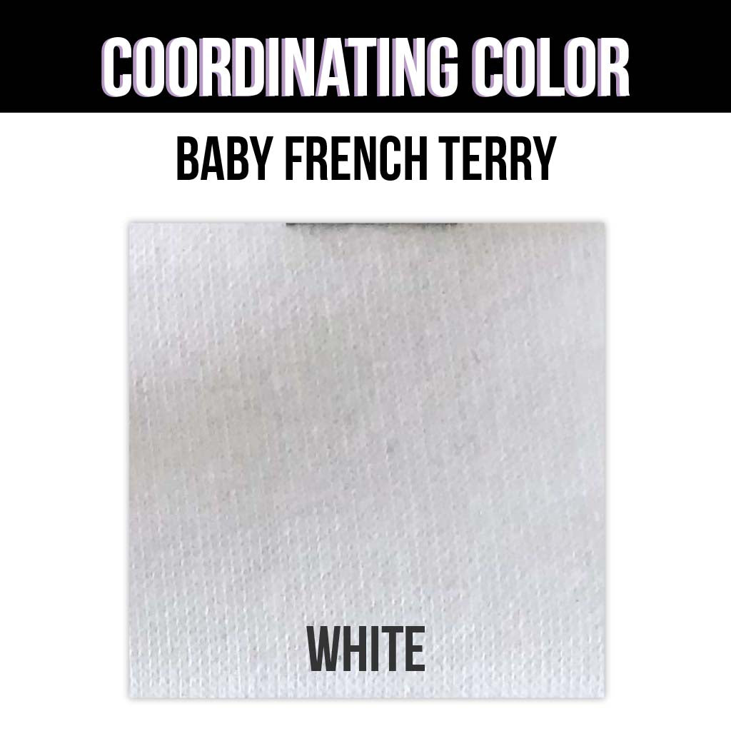 Baby French Terry Solid - Heather Orange