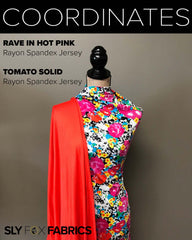 Rayon Spandex - Rave in Hot Pink