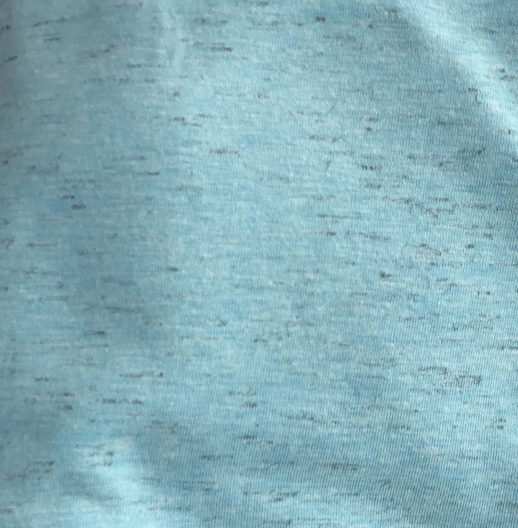 Cotton Jersey (Flecked) - Mint