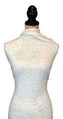 Cotton Jersey (Flecked) - Ivory