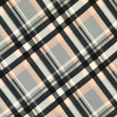 Double Brushed Poly Plaid - Sage
