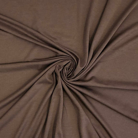 Cotton Spandex Solid - Milk Chocolate