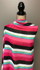 Chiffon - Watermelon Stripes