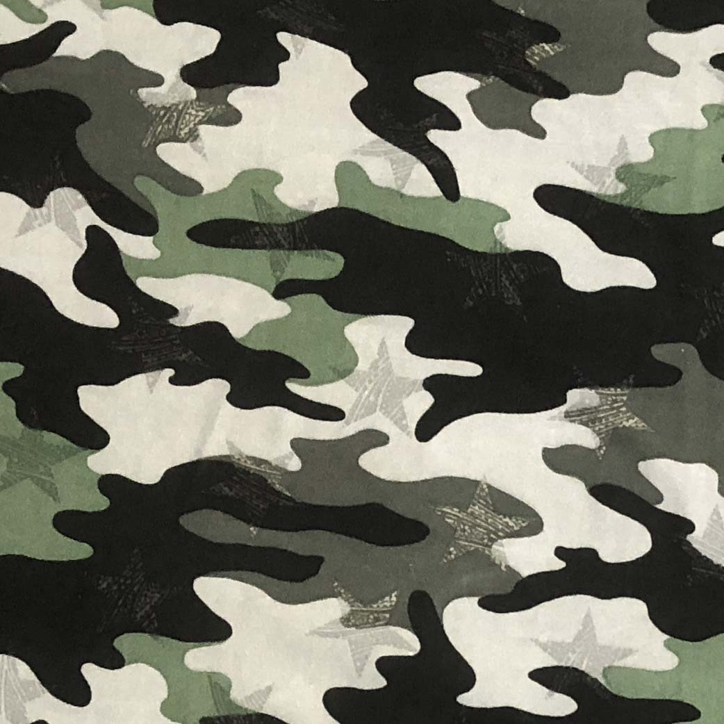Double Brushed Poly - Got Your Six! Camo