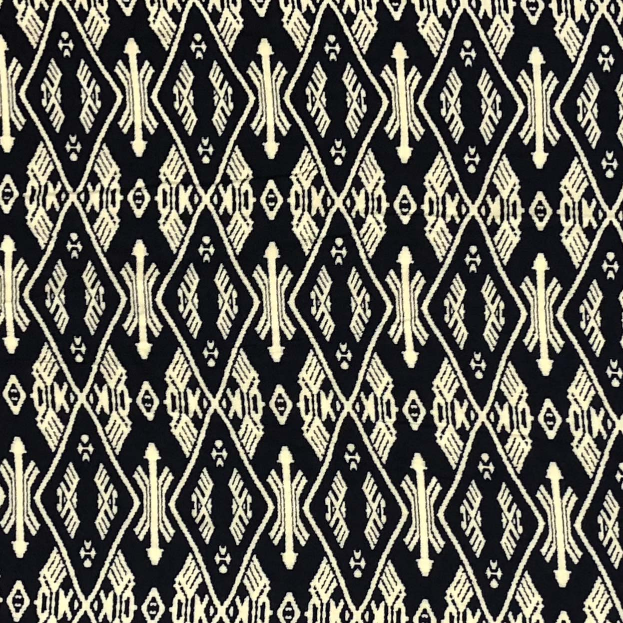Rayon Challis - Eagles & Arrows in Navy