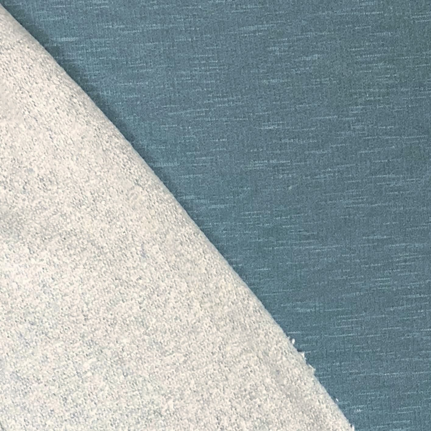 Slub French Terry (Brushed) - Teal