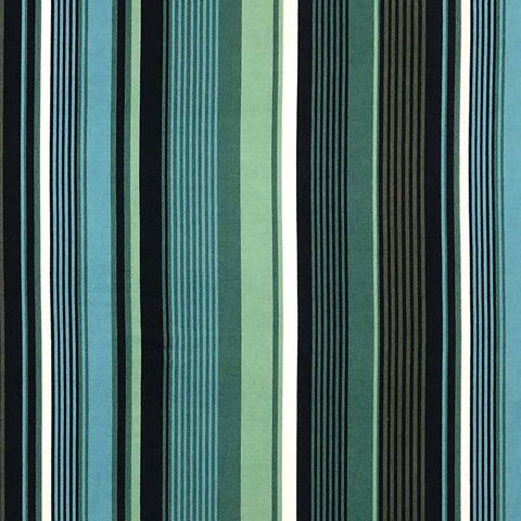 Double Brushed Poly Stripes (Vertical) - Green