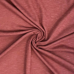 Slub French Terry (Brushed) - Marsala