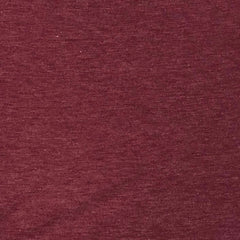 Baby French Terry Solid Two-Tone - Burgundy