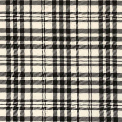 Liverpool Plaid - Ivory & Black