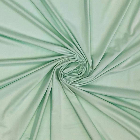 Double Brushed Poly Solid - Mint