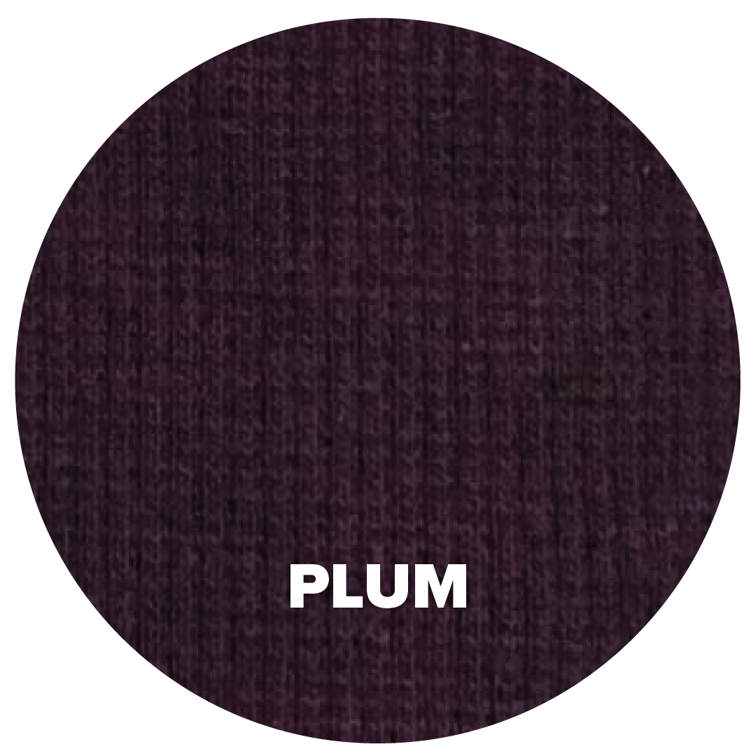 Natural Fabric: Tencel Lyocell Cotton Spandex Jersey - Plum