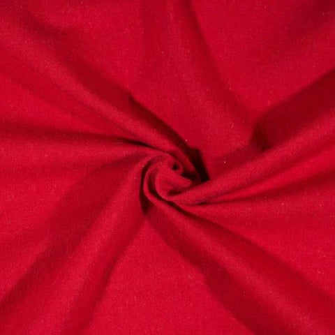 Cotton Spandex Solid - Red