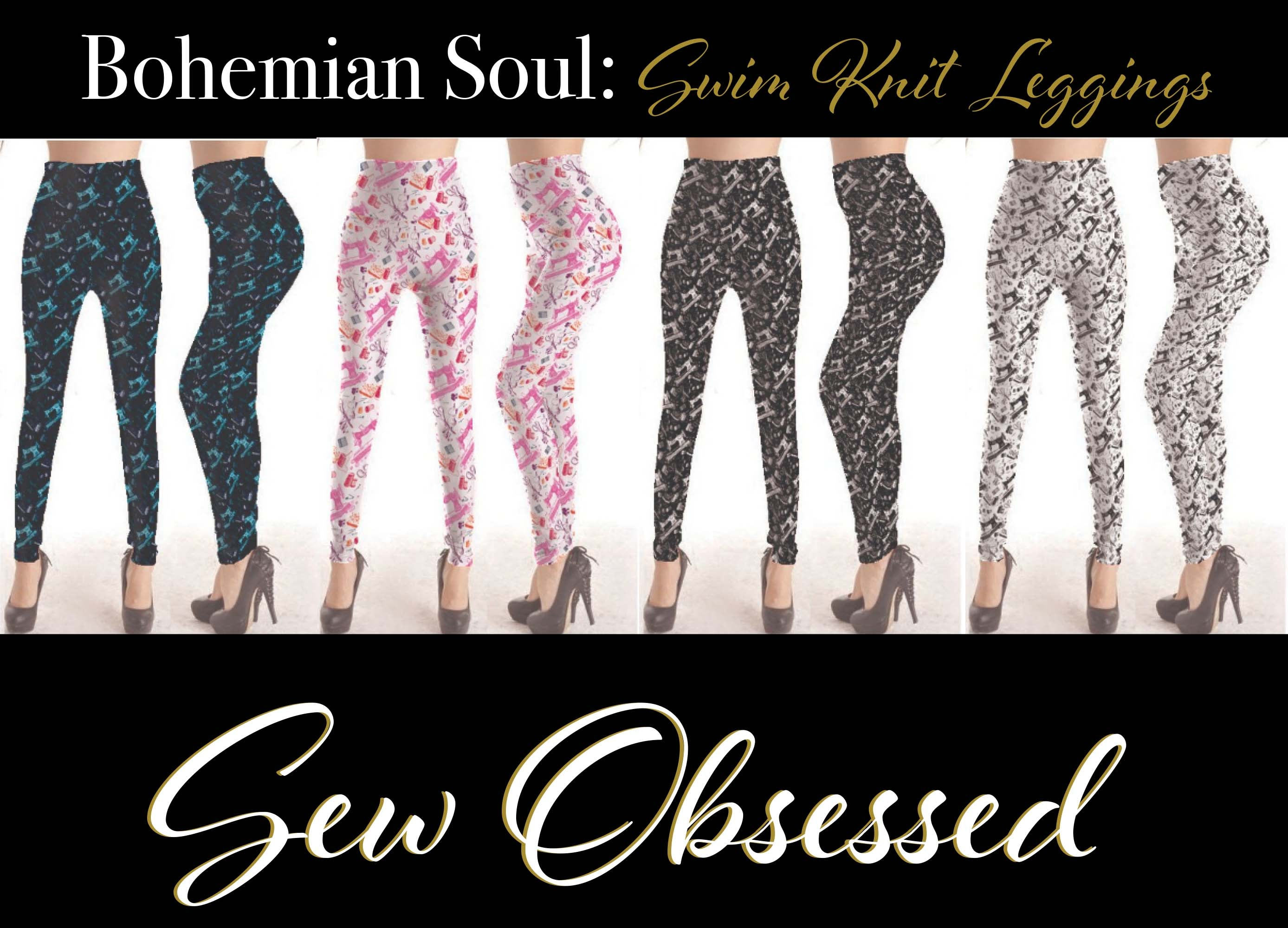 Bohemian Soul Swim - Sew Obsessed in Black