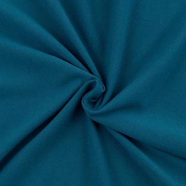 Double Brushed Poly Solid - Teal