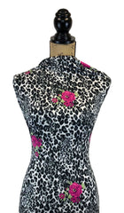 Double Brushed Poly - Wild Child Animal Print
