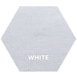Natural Fabric: Tencel Lyocell Organic Cotton Spandex French Terry - White