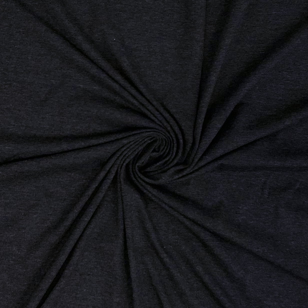 Cotton Spandex Solid Two-Tone - Dark Charcoal