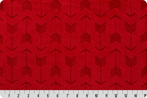Shannon Embossed Arrow Cuddle® Scarlet