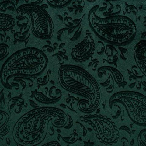 Shannon Paisley Vine Embossed Cuddle® Evergreen