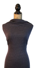 Poly Rayon Spandex Solid - Heather Navy