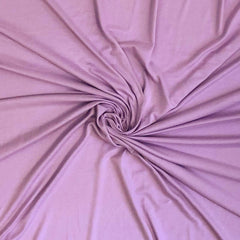 Double Brushed Poly Solid - Lavender