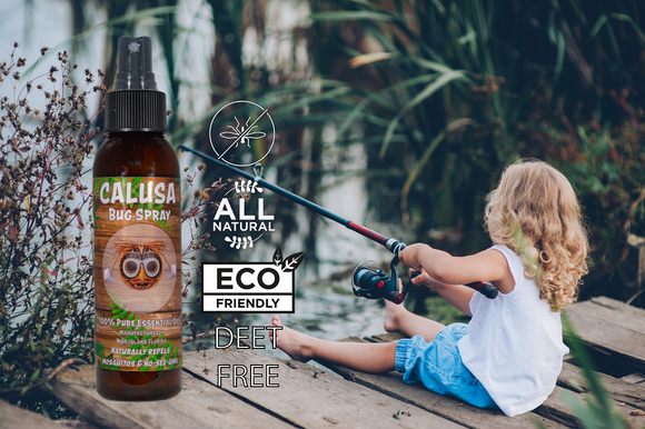 Calusa Bug Spray All Natural Bug Repellant