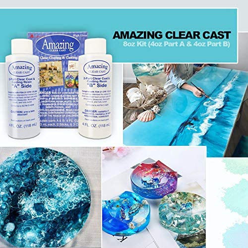 Amazing Clear Cast, Mica Powder and Supplies Bundle