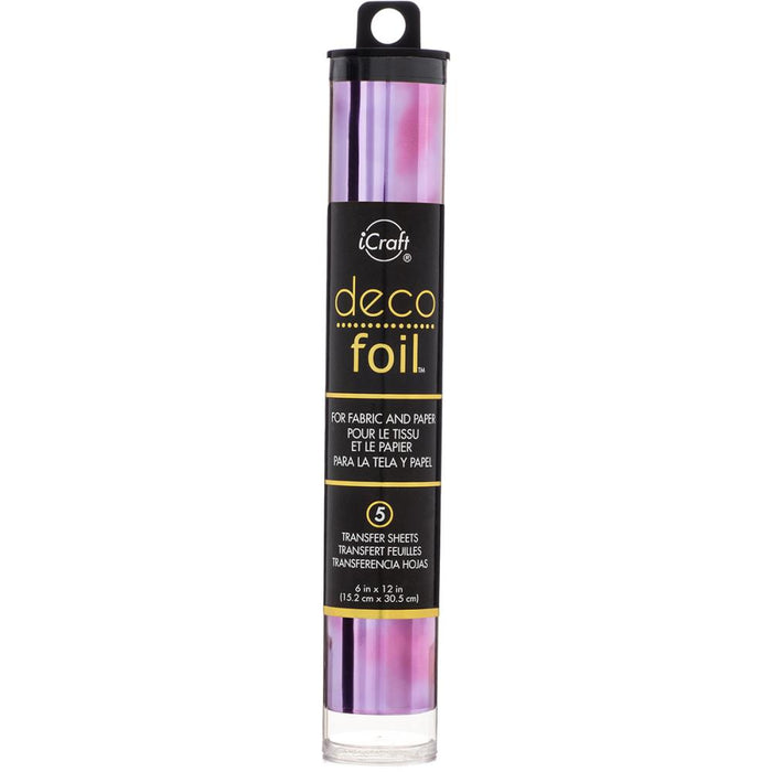 "Deco Foil Specialty Transfer Sheets 6""X12"" (10 Colors)"