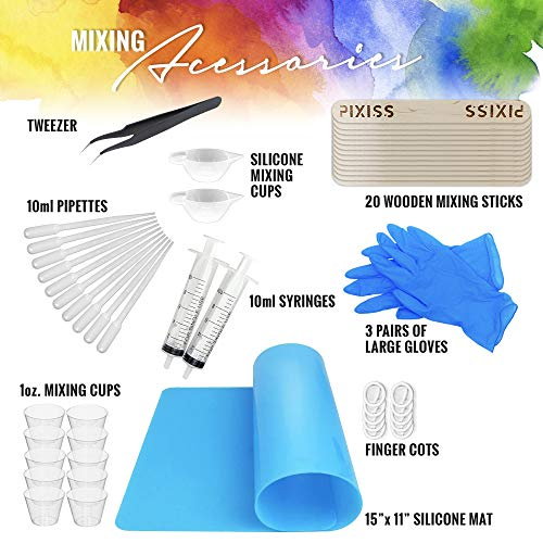 PIXISS Jewelry Box Resin Molds Kit