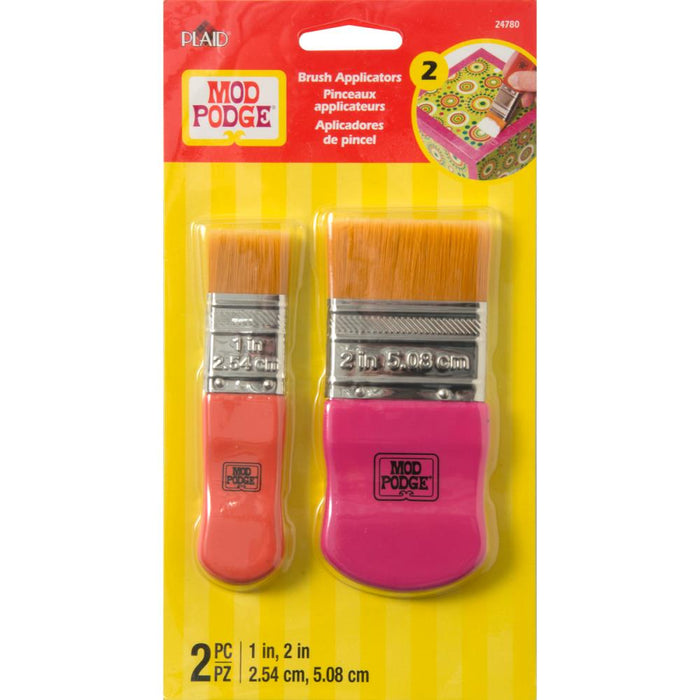 "Mod Podge Brush Set 1"" & 2"" 2/Pkg"