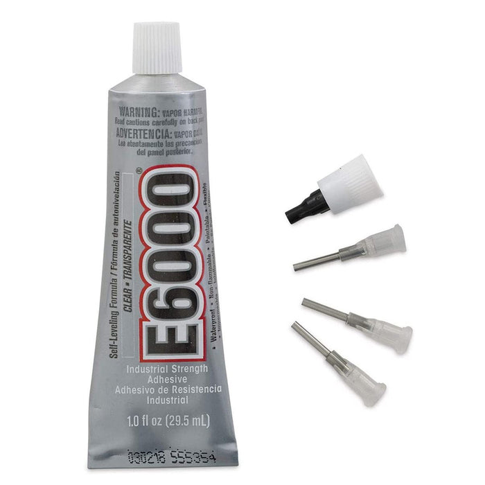 E6000 Industrial Strength Adhesive with Precision Tips; 1oz. Tube