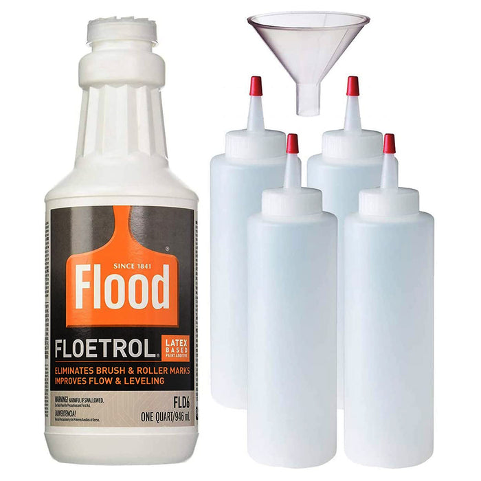 Flood Floetrol Additive and Squeeze Bottle Bundle