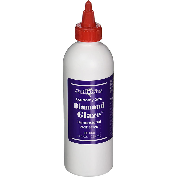 Judikins Diamond Glaze Dimensional Adhesives, 2oz. or 8oz.