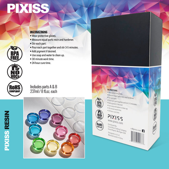 Pixiss Diamond Resin; 17oz.