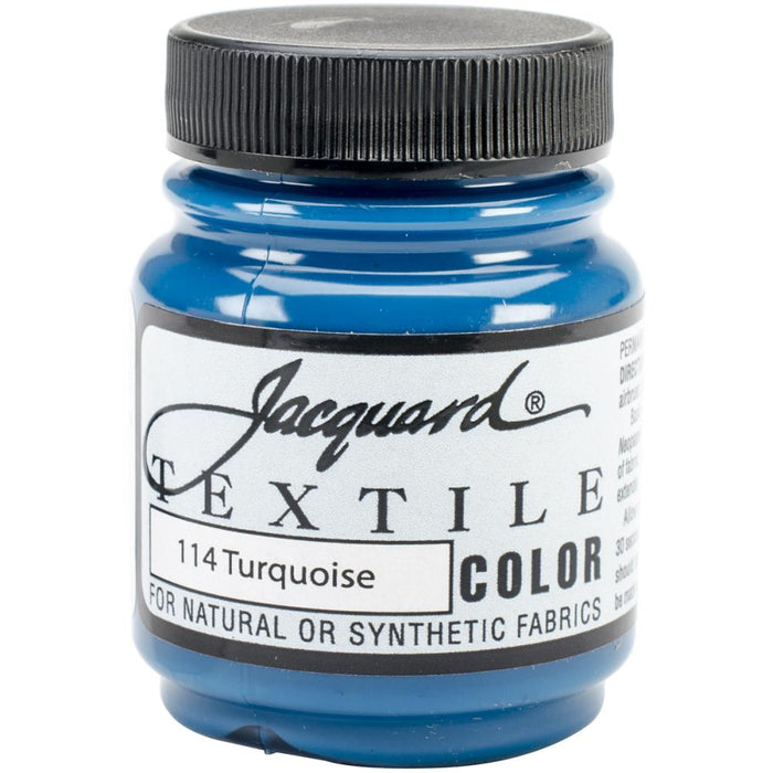 Jacquard Textile Color Fabric Paint 2.25oz (34 Colors)