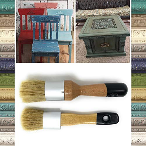 Pixiss Wax & Chalk Brush Set 2 Pack