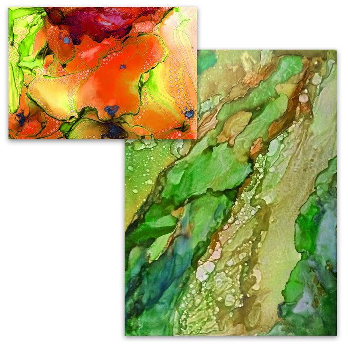 Pixiss Alcohol Ink Paper (25 Sheets)