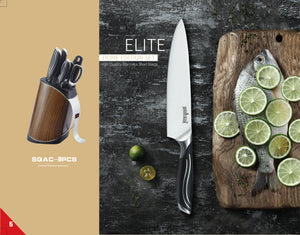Sequoia Blade Home Edition: Elite 8pc Knife Block Set