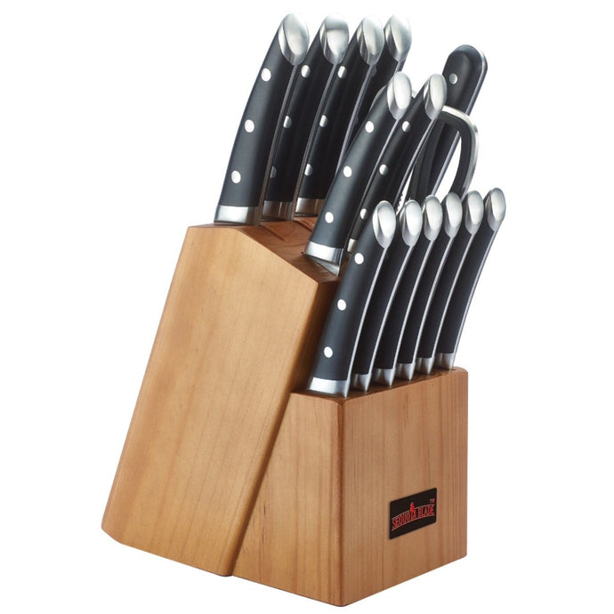 Sequoia Blade Chef Special: Economy 15pc Knife Block Set