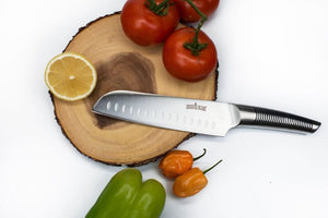 "Sequoia Blade Chef Special: Professional 7"" Santoku Knife"