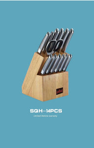 Sequoia Blade Chef Special: Professional 14pc Knife Block Set