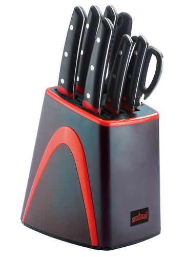 Sequoia Blade Home Edition: Premium Economy 9pc Knife Block Set